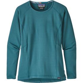 Patagonia R1 Langærmet T-shirt Damer, tasmanian teal